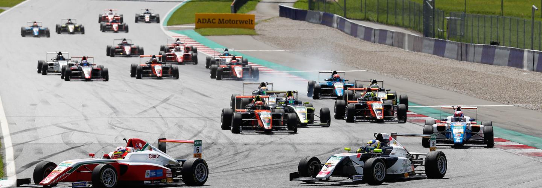 Starkes Feld beim ersten Rennwochenende der ADAC Formel 4 auf dem Red Bull Ring