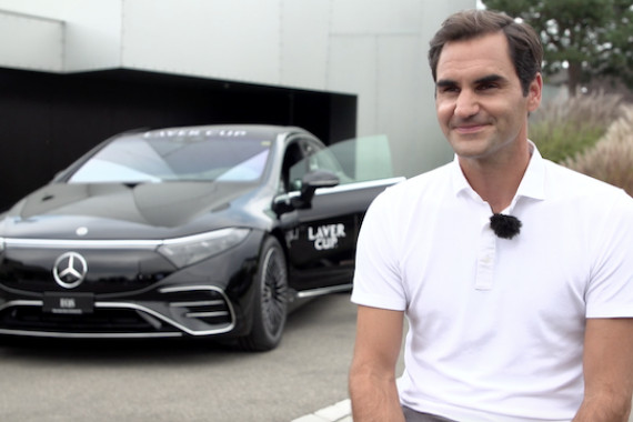 Exclusive interview with tennis legend Roger Federer in the run-up to the Laver Cup 2021 in Boston. The 20-time Grand Slam winner, who cannot take part in the tournament due to knee surgery, talks about his recovery process, Novak Djokovic's missed chance to win the Gran Slam, and the development of the Laver Cup, among other things.