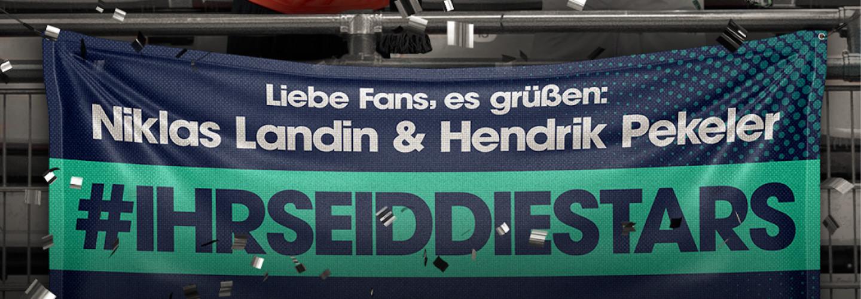 #IHRSEIDDIESTARS - Kampagnenmotive Deutscher Meister