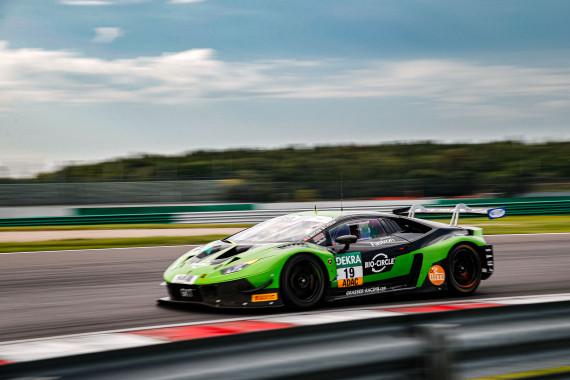 Schnellster: Lamborghini-Pilot Franck Perera