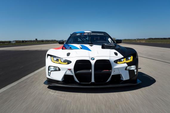 Der BMW M4 GT3 feiert 2021 Premiere im ADAC GT Masters (Foto: BMW)