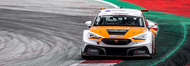 Eric Scalvini (Wimmer Werk Motorsport) gelang erneut ein souveräner Start-Ziel-Sieg